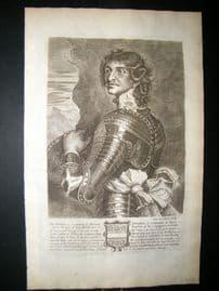 Guillim Display of Heraldy 1679 Folio Portrait. Bertram Ashburnham
