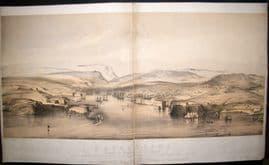 Hanhart after Telbin & Brandard 1854 LG Folio. Sebastopol, Crimea, Ukraine