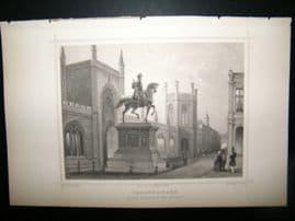 Holland Netherlands C1850's Antique Print. Sgravenhage