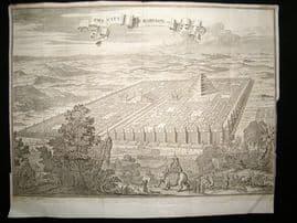 Iraq C1750 LG Folio Antique Print. City of Babylon