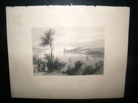 Ireland 1847 Antique Print. Cork River