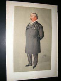 Vanity Fair Print: 1892 Edward Llyod, Music.