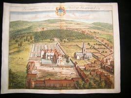 Kip Gloucestershire 1712 Folio Hand Col Print. Hampton, Phillip Shappard UK