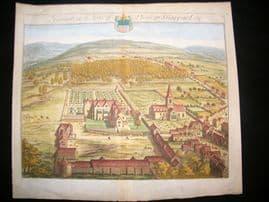 Kip Gloucestershire 1768 Folio Hand Col Print. Hampton, Phillip Shappard UK