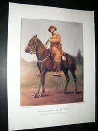 Lieut-Gen E.C Bethune 1900 Military Portrait Print. Boer War
