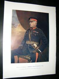 Lieut-Gen Thomas Kelly-Kerry 1900 Military Portrait Print. Boer War