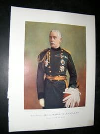 Maj-Gen J.C Mcneil 1900 Military Portrait Print. Boer War