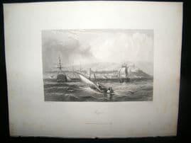 Morocco 1847 Antique Print. Mogodar