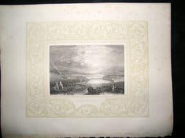 Palestine C1860 Antique Print. Solomon's Pools, Turner