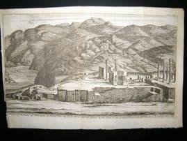 Persia C1750 Antique Print. Persepolis #1