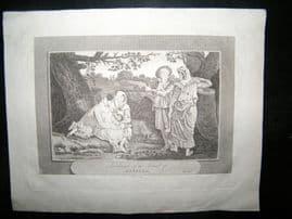Philippines 1810 Antique Print. Inhabitants of the Island of Manilla