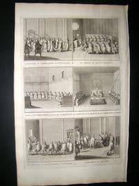 Picart C1730 Folio Antique Print. Religious Catholic 15