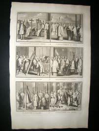 Picart C1730 Folio Antique Print. Religious Catholic 25