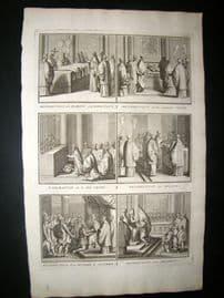 Picart C1730 Folio Antique Print. Religious Catholic 26