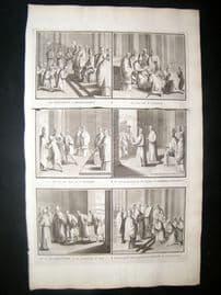 Picart C1730 Folio Antique Print. Religious Catholic 47