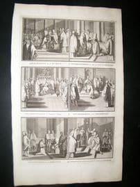 Picart C1730 Folio Antique Print. Religious Catholic 48