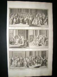 Picart C1730 Folio Antique Print. Religious Catholic 52