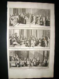 Picart C1730 Folio Antique Print. Religious Catholic 54