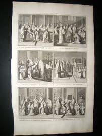Picart C1730 Folio Antique Print. Religious Catholic 56