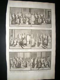 Picart C1730 Folio Antique Print. Religious Catholic 57