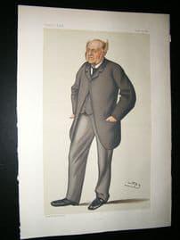Vanity Fair Print: 1882 Adolphus F. Octavius Liddell.