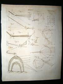 Science & Tech C1790 Antique Print. Optics 355