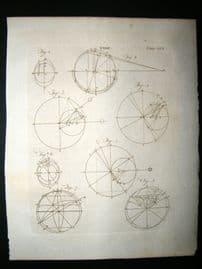 Science & Tech C1790 Antique Print. Tide 509