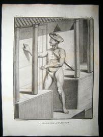 Sonnerat India 1782 Antique Print. Carepatre Pandaron