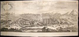 Syria C1750 LG Folio Antique Print. Ruins of Palmyra