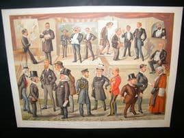 Vanity Fair Double Print 1890 In Vanity Fair