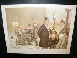 Vanity Fair Double Print 1893 On the Terrace