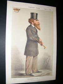 Vanity Fair Print 1869 Duke of Abercorn, Ape Lithograph