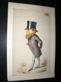 Vanity Fair Print 1869 Earl De Grey and Ripon