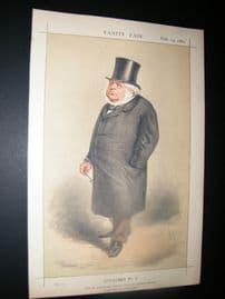 Vanity Fair Print 1869 John Bright