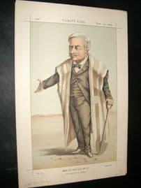 Vanity Fair Print 1869 Le Vicomte Ferdinand De Lesseps