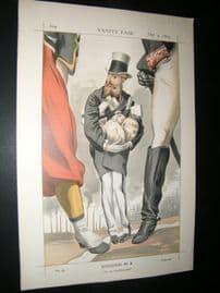 Vanity Fair Print 1869 Leopold II, King of the Belgians