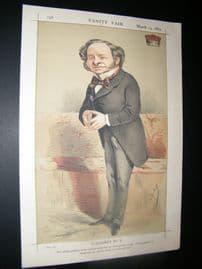 Vanity Fair Print 1869 Lord Granville