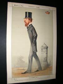 Vanity Fair Print 1869 Marquis of Hartington
