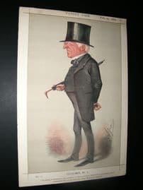 Vanity Fair Print 1869 Robert Lowe, Chancellor