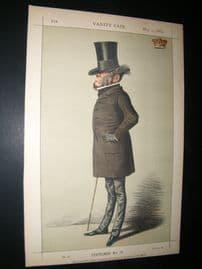 Vanity Fair Print 1869 Viscount Sydney, Caricature