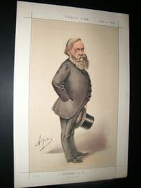 Vanity Fair Print 1870 A. J. B. Beresford Hope