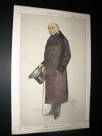Vanity Fair Print 1870 Baron de Brunnow