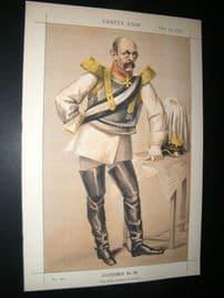 Vanity Fair Print 1870 Count Von Bismarck-Schoenausten