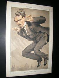 Vanity Fair Print 1870 Henri Rochefort, Newspaperman