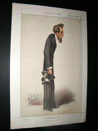 Vanity Fair Print 1870 Henry Bulwer