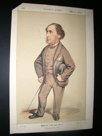 Vanity Fair Print 1870 Joseph Hawley, Turf