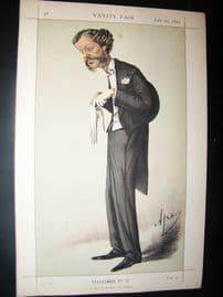 Vanity Fair Print 1870 Lord Henry G. C. Gordon-Lennox