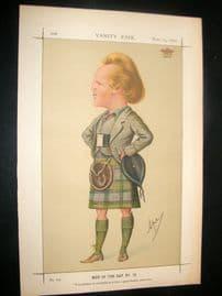 Vanity Fair Print 1870 Marquis of Lorn, Scotsman