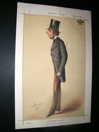 Vanity Fair Print 1870 Marquis of Westminster