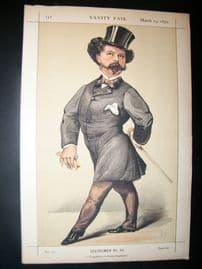 Vanity Fair Print 1870 Robert Peel, Police